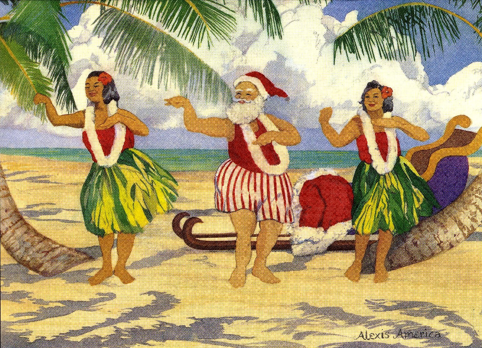 5 dress - Merry Christmas In Hawaii