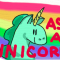 "Ask a unicorn! ""Do unicorns eat churros?"""