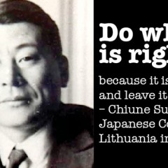 Chiune Sugihara, Stephen Martyr, and why they matter to us