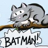 BATMAN V CAT IN TREE: DAWN IN THE EAST