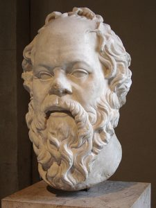 Socrates, from the Louvre collection,