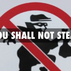 Exodus 20:15 – You Must Not Steal