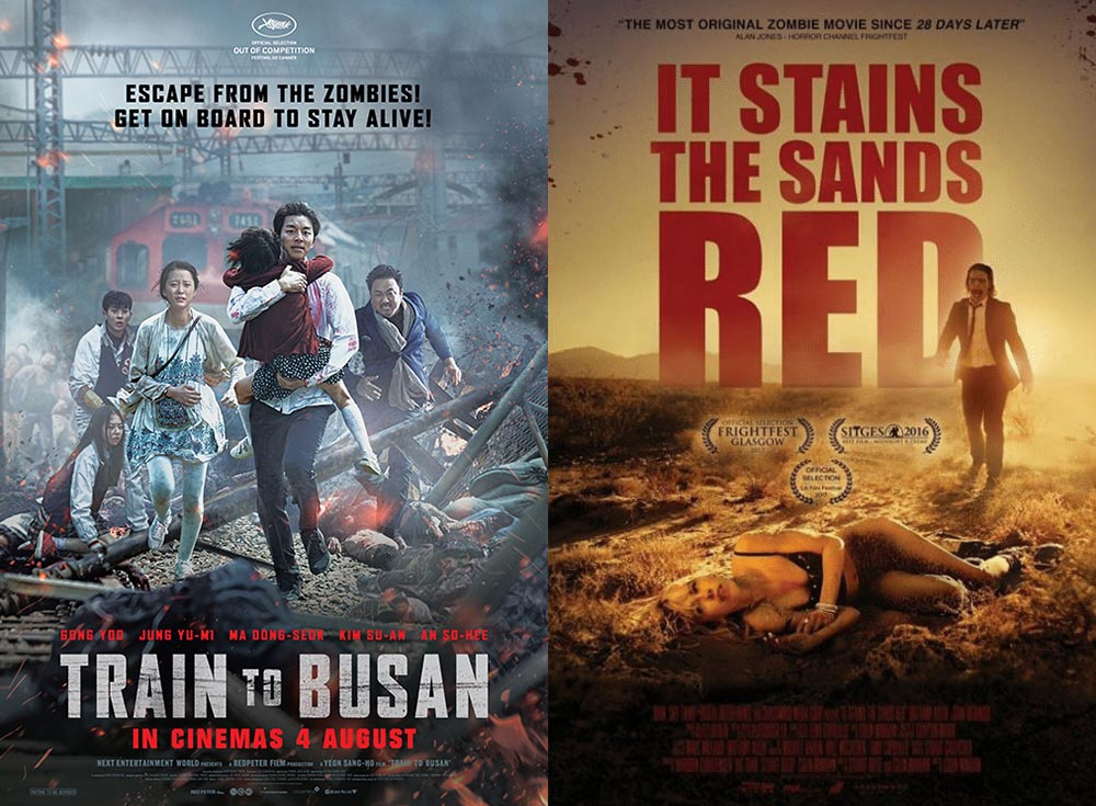 Zombies and Bad Parents: Train to Busan vs It Stains the Sands Red