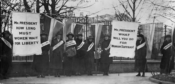 "Women Voting — ""Unpatriotic""?"