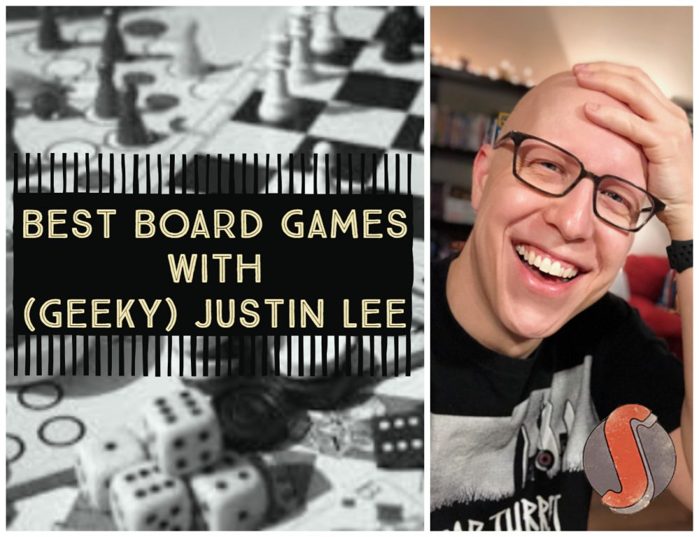 The Best Board Games with (Geeky) Justin Lee Image
