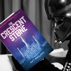 "5 Ways Star Wars Shaped My Fantasy Novel ""The Crescent Stone"""