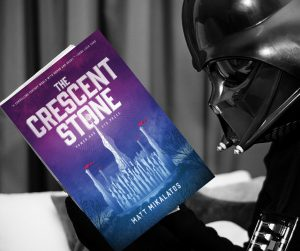 even though Vader is probably illiterate