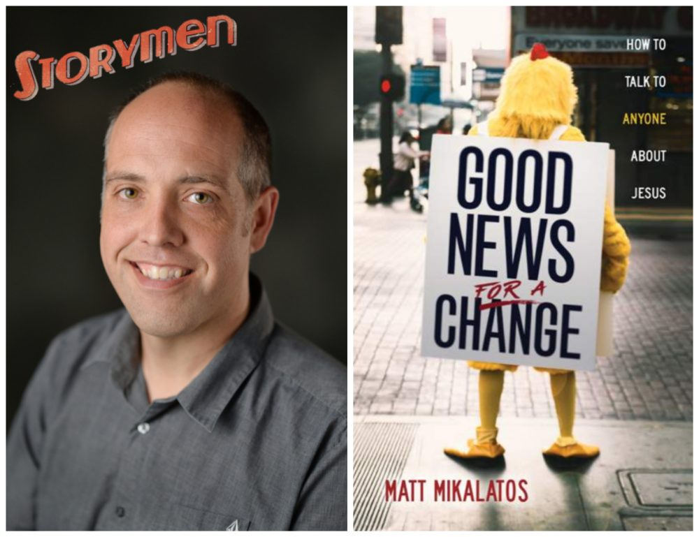 Matt Mikalatos has some Good News... for a Change Image