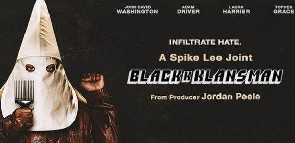 BLACKkKLANSMAN, Charlottesville and Black Power